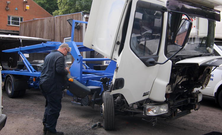 Commercial Vehicle Service Repair Leicester